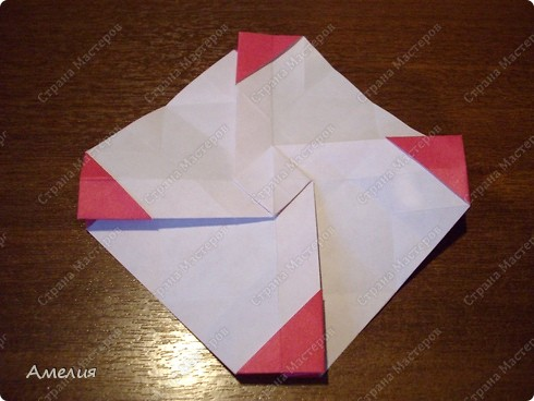 Мастер-класс Оригами, Оригами модульное: Розочки Кавасаки в вазочке+МК Бумага. Фото 33