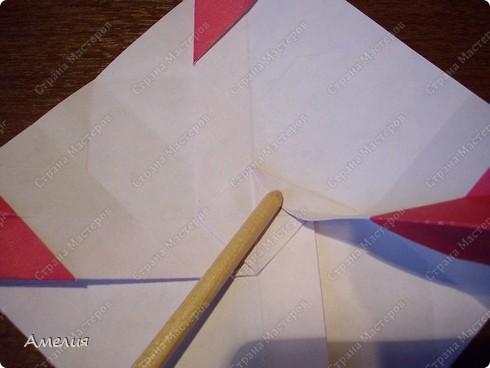 Мастер-класс Оригами, Оригами модульное: Розочки Кавасаки в вазочке+МК Бумага. Фото 34