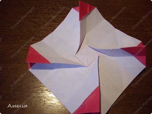 Мастер-класс Оригами, Оригами модульное: Розочки Кавасаки в вазочке+МК Бумага. Фото 35