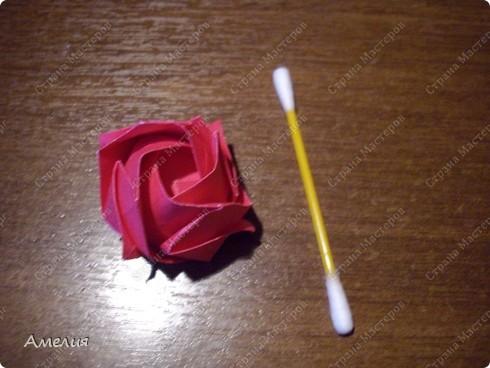 Мастер-класс Оригами, Оригами модульное: Розочки Кавасаки в вазочке+МК Бумага. Фото 54