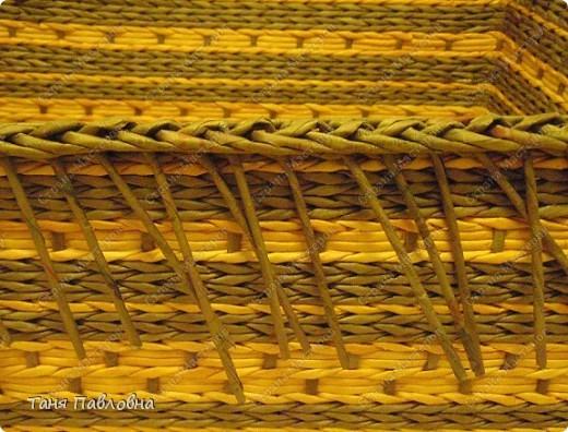 Мастер-класс, Поделка, изделие Декупаж, Плетение: Подружка моей плетушке и МК загибки. Декупажик. Бумага газетная. Фото 19