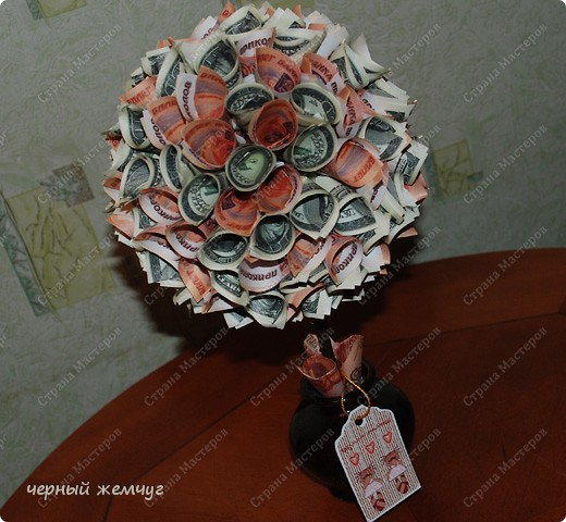 Фото денежного дерева своими руками