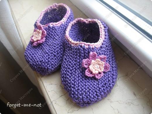 Шапочка для новорожденого вязание