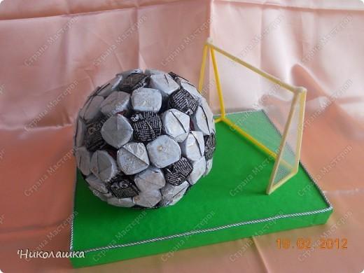 Подарок на день рождения футболисту своими руками