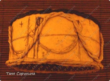Декор предметов Бумагопластика: Золотой браслет, инкрустированный цветными эмалями. Пейп-арт. Мастер-класс. Салфетки 8 марта. Фото 5
