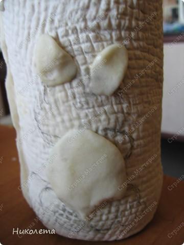 """Декор предметов, Мастер-класс Лепка: Как я делаю """"Домик для гномиков """" Бутылки стеклянные, Тесто соленое День рождения. Фото 11"""