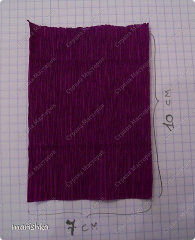 Мастер-класс, Свит-дизайн Бумагопластика: МК ирисы - часть1 Бумага гофрированная. Фото 3