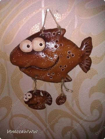Мастер-класс Лепка: Рыбки и коты из соленого теста Тесто соленое. Фото 2