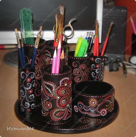 Декор предметов Роспись: Чудо-органайзер Краска. Фото 19