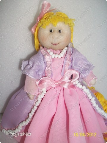 Куклы из синтепона и капрона