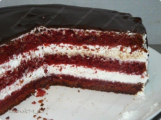 Кулинария, Мастер-класс Рецепт кулинарный: Красный бархат (Red Velvet) Продукты пищевые. Фото 6