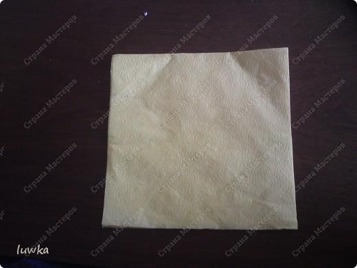 Поделка, изделие Бумагопластика: Для новичков подробный МК часть1 Салфетки. Фото 2