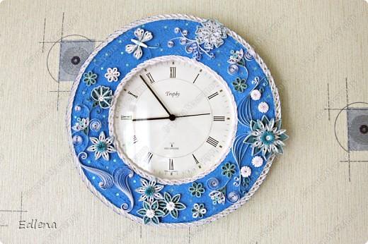 Часы из бумаги мастер класс