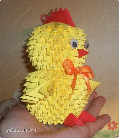 Модульное Оригами Схемы Цыпленка