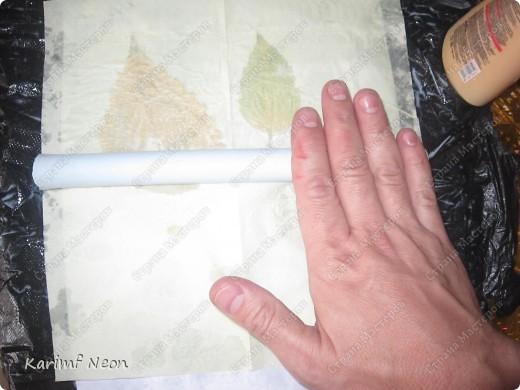 Декор предметов, Мастер-класс: Волшебная БУМАГА и КНИГА +МК Бумага, Клей, Листья День рождения. Фото 6