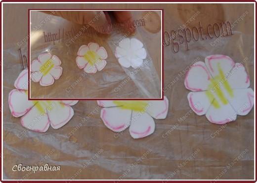 Мастер-класс Бумагопластика: Цветы из бумаги Бумага Свадьба. Фото 5