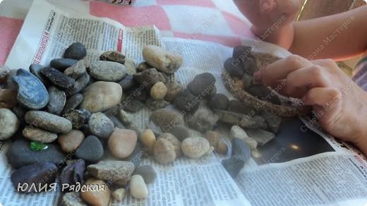 """Мастер-класс: МК """"Водопада""""  Клей, Песок Отдых. Фото 10"""