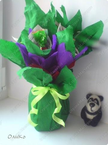 Поделка, изделие Валяние (фильцевание): Подарки Бумага гофрированная, Тесто соленое, Шерсть День рождения. Фото 2
