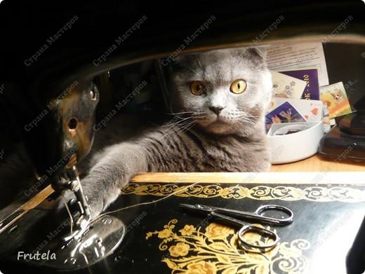 Мастер-класс Шитьё: Спит мышонок сладко-сладко Краска, Кружево, Мешковина. Фото 6
