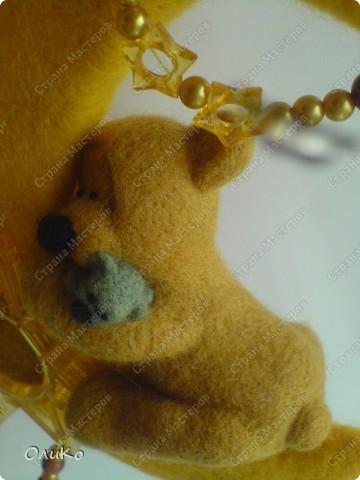 Поделка, изделие Валяние (фильцевание): Подарки Бумага гофрированная, Тесто соленое, Шерсть День рождения. Фото 10