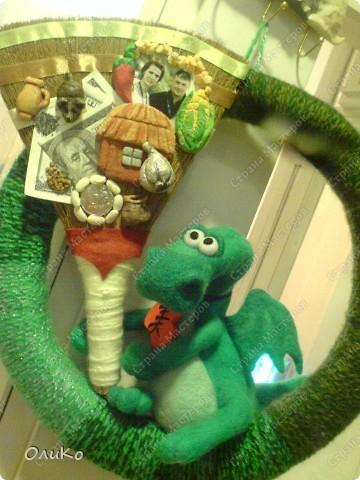 Поделка, изделие Валяние (фильцевание): Подарки Бумага гофрированная, Тесто соленое, Шерсть День рождения. Фото 19