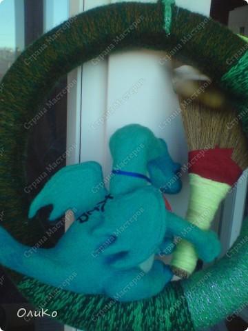 Поделка, изделие Валяние (фильцевание): Подарки Бумага гофрированная, Тесто соленое, Шерсть День рождения. Фото 22