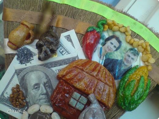 Поделка, изделие Валяние (фильцевание): Подарки Бумага гофрированная, Тесто соленое, Шерсть День рождения. Фото 27