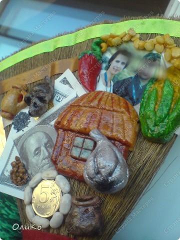 Поделка, изделие Валяние (фильцевание): Подарки Бумага гофрированная, Тесто соленое, Шерсть День рождения. Фото 26