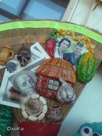 Поделка, изделие Валяние (фильцевание): Подарки Бумага гофрированная, Тесто соленое, Шерсть День рождения. Фото 24