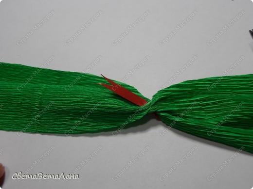 Мастер-класс, Свит-дизайн Бумагопластика: Змейка - презент за 15 минут................. Бумага гофрированная Новый год. Фото 9