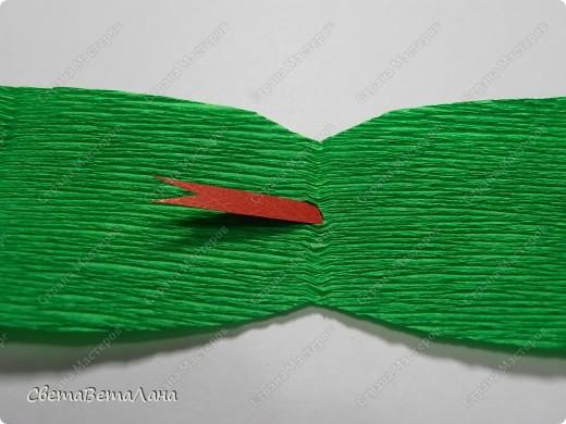 Мастер-класс, Свит-дизайн Бумагопластика: Змейка - презент за 15 минут................. Бумага гофрированная Новый год. Фото 7