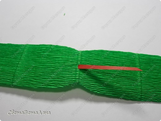 Мастер-класс, Свит-дизайн Бумагопластика: Змейка - презент за 15 минут................. Бумага гофрированная Новый год. Фото 8