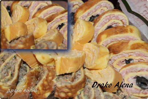 Мастер-класс Рецепт кулинарный: Нежные закусочные рулетики Продукты пищевые. Фото 1