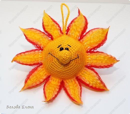 Мастер-класс Вязание крючком: Солнышко Пряжа. Фото 28