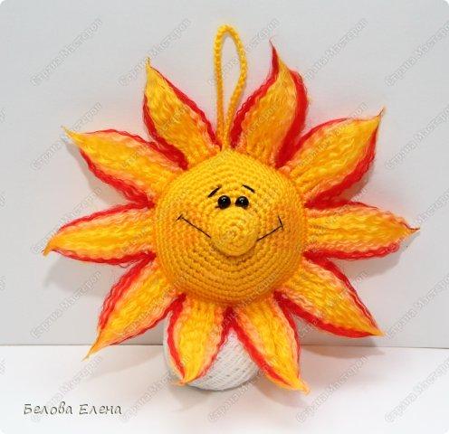 Мастер-класс Вязание крючком: Солнышко Пряжа. Фото 1