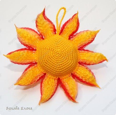 Мастер-класс Вязание крючком: Солнышко Пряжа. Фото 2
