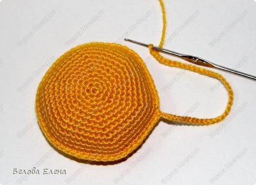 Мастер-класс Вязание крючком: Солнышко Пряжа. Фото 13