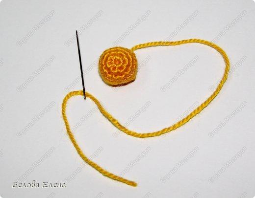 Мастер-класс Вязание крючком: Солнышко Пряжа. Фото 16