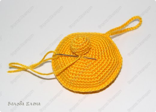 Мастер-класс Вязание крючком: Солнышко Пряжа. Фото 17