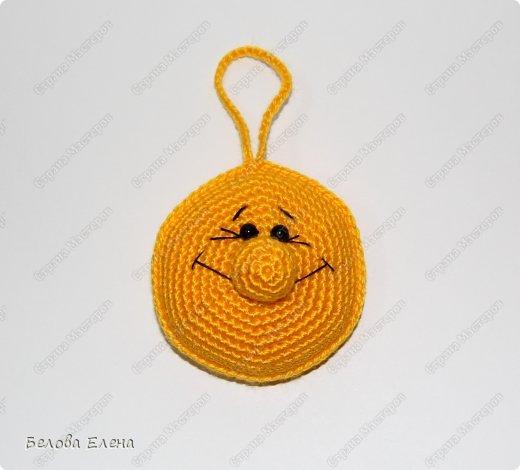 Мастер-класс Вязание крючком: Солнышко Пряжа. Фото 19