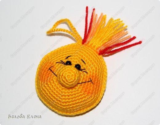 Мастер-класс Вязание крючком: Солнышко Пряжа. Фото 24