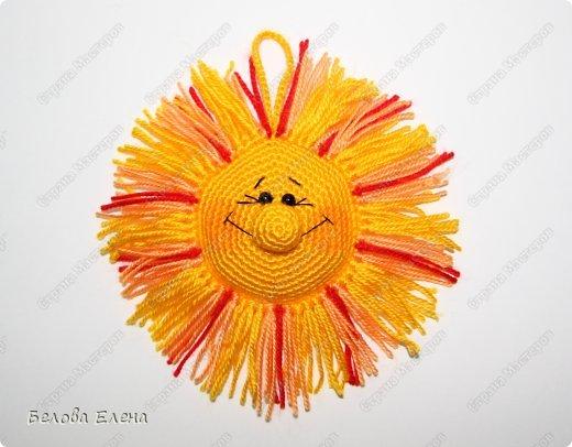 Мастер-класс Вязание крючком: Солнышко Пряжа. Фото 25