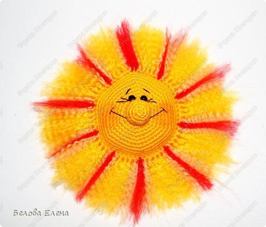 Мастер-класс Вязание крючком: Солнышко Пряжа. Фото 26
