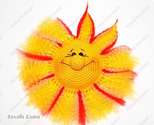Мастер-класс Вязание крючком: Солнышко Пряжа. Фото 27