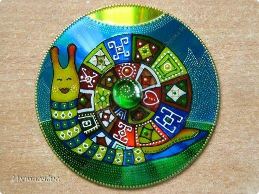 Декор предметов Роспись: Дискомания - 2 Диски компьютерные, Краска. Фото 1