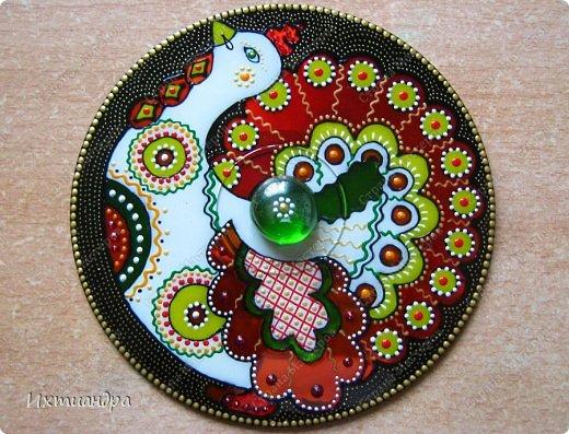 Декор предметов Роспись: Дискомания - 2 Диски компьютерные, Краска. Фото 13