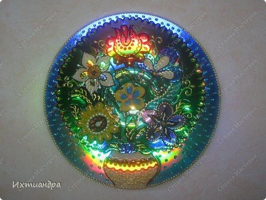 Декор предметов Роспись: Дискомания - 2 Диски компьютерные, Краска. Фото 20