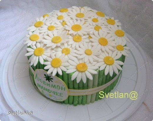 Торт для мамы из мастики своими руками