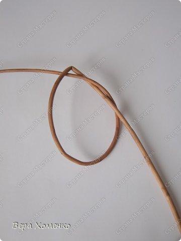 Декор предметов, Мастер-класс Плетение: Пасхальный декор (рамка для писанки) Материал природный Пасха. Фото 3