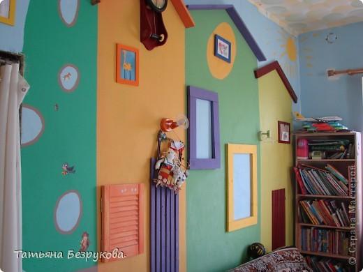 Декор предметов Рисование и живопись: Оформление детской комнаты. . Фото 1